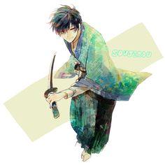 Where are my feelings? Kenshin Anime, Rurouni Kenshin, Miyazaki Spirited Away, Hayao Miyazaki, Samurai Art, Samurai Swords, Fantasy Characters, Anime Characters, Era Meiji