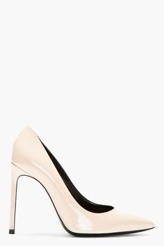 Nude Patent Paris Pumps