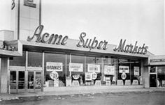 retro retail stores 1000 images about acme markets on 1948