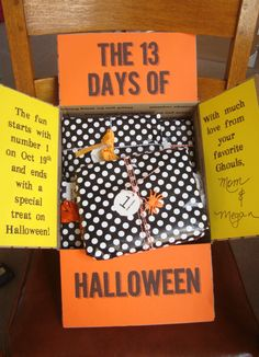 The 13 Days of Halloween Care Package