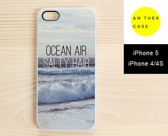 ocean air, salty hair - iphone case from www.another-case.com