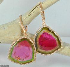 watermelon tourmaline jewelry - Google Search