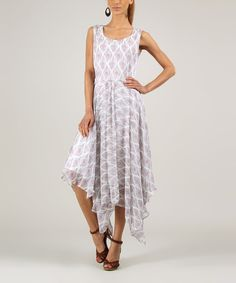 Look at this Lilac Handkerchief Dress - Women & Plus on #zulily today!