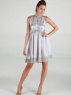 Vestido Grazi Cetim por Lord Lu Crazy Couture