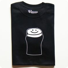 happy pint of guinness t-shirt perfect for st patrick's day by teeandtoast.com st paddy's / st patty's