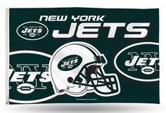 New York Jets House/Porch/Banner 3X5 Flag