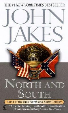 North & South Series By John Jakes.  I loved this mini series