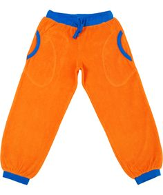 Duns of Sweden extremely cool orange terry pants #emilea