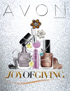 Joy of Giving Avon Campaign 24 - view all Avon Campaign 24 2013 online brochures at http://www.makeupmarketingonline.com/avon-campaign-24-2013/
