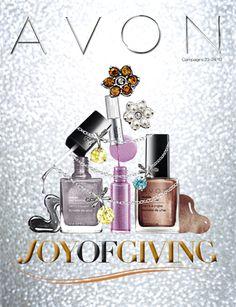 Joy of Giving Avon Campaign 23 / 24 - view Avon Campaign 23 catalogs online at http://www.makeupmarketingonline.com/avon-campaign-23-2013/