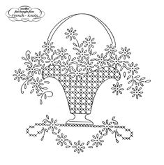 vintage embroidery transfers | Flowers, Daisies, Fruit, Roses and Basket Embroidery Transfers