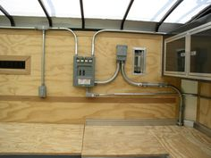 enclosed trailer cabinets v nose trailer cabinets pinterest rh pinterest com Enclosed Trailer Electrical wiring a cargo trailer for 110v and 12v