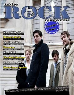 Premier issue of Indie Rock Magazine featuring The Honorifics alongside other great bands!