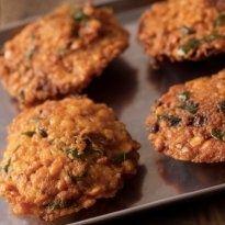 Saboodana Vada: Potato and #saboodana fried in patty shape makes a tasty snack and a perfect festive delicacy.