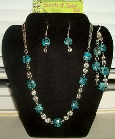 Swirls of Jasper Set - made for a Silent Auction