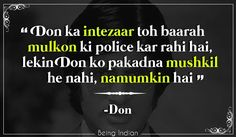Don, Sharukh Khan, Amitabh Bachann
