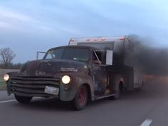 Rusted Rat Rod Truck is the Epitome of Cool #Diesel  - http://vixert.com/rusted-rat-rod-truck-epitome-cool/