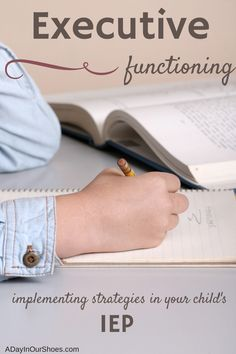 Executive Functioning deficits for students are fairly common but not often talked about or addressed. This shows parents what common deficits look like, how they manifest themselves at school and how you can implement strategies (with or without an IEP) to get your child back on track.