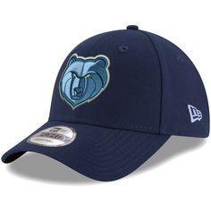 premium selection e12b4 9d75b Men s Memphis Grizzlies New Era Navy Official Team Color The League 9FORTY  Adjustable Hat,