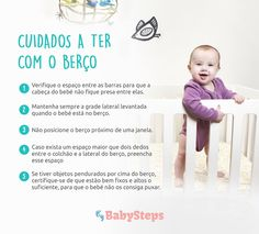 #Cuidados_a_Ter_com_o_Berço #babysteps #crianças #bebés #quarto #berço #cama #dormir