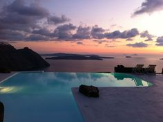 View Of The Mediterranean From The Aenaon Villas In Santorini, Greece | Yatzer