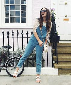 5 Denim #OOTDs For All Your Weekend Plans #refinery29  http://www.refinery29.com/denim-weekend-outfits