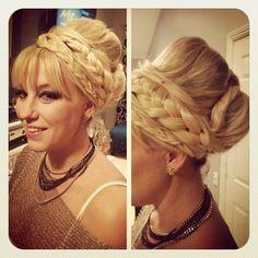 Hairrrr!!! Looks like greek goddess hair