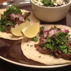 Tacos de Carne Asada | emilypopcook.com