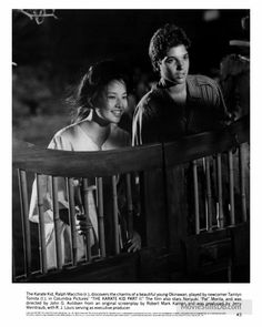 The Karate Kid, Part II - Lobby card with Tamlyn Tomita & Ralph Macchio. The image measures 500 * 625 pixels and was added on 9 May The Karate Kid 1984, Karate Kid Movie, Karate Kid Cobra Kai, The Joy Luck Club, Cobra Kai Dojo, Kids Part, Ralph Macchio, Columbia Pictures, Old Love