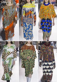 Dries-Van-Noten – Fall 2017 – RTW – Paris Fashion Week – Print & Pattern Highlight | Patternbank