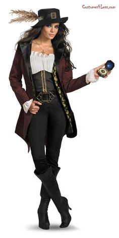 Pirates Of The Caribbean - Angelica Prestige Adult Costume @Costumes 4 Less