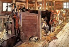 Carl Larsson - Cowshed, The Catalog