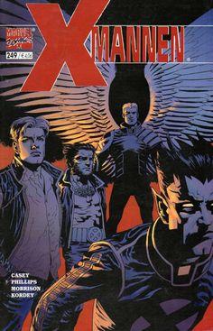X-Mannen #249 Rocktopia / Fantomex
