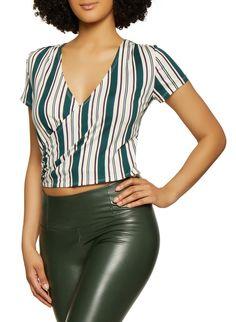 61dde56bbc9f9 13 Best leather crop top images | Crop tops, Dressmaking, Clothes