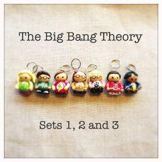 Big Bang Theory Stitch Marker Set on Etsy WANT!!!!!!!!!!!!!!!!!!!!!!!!!!!!!!!!!!!!