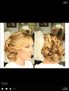 Wedding hair -by Powder Inc.