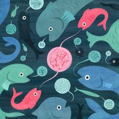 when fish shout the new yorker - Google Search