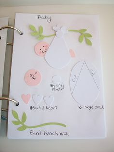 Baby bunting punch art