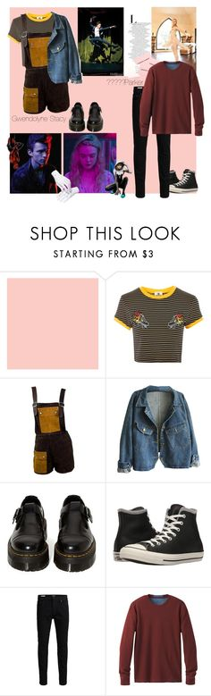 """Gwendolyne Stacy, Peter Parker"" by super-dianko ❤ liked on Polyvore featuring Marvel, The Ragged Priest, Janis, Dr. Martens, Converse, Jack & Jones and prAna"
