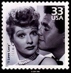 I Love Lucy / USA postage stamp