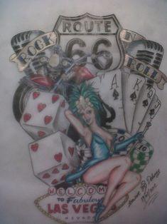 Viva Las Vegas Custom Design