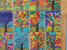 Bildergebnis für fall art projects for elementary students Kindergarten Art Projects, Classroom Art Projects, School Art Projects, Art Classroom, Art Auction Projects, Fall Art Projects, Autumn Art, Winter Art, Inspiration Artistique