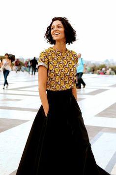 5dafa9ff6c2ca Robe pagne africain model wax idée tenue cool top jupe noire longue Robe En Pagne  Africain