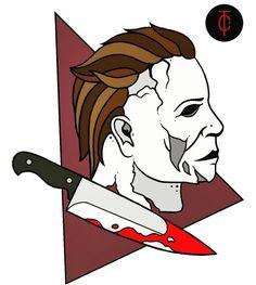 Newest Horror Movies, Classic Horror Movies, Horror Films, Halloween Film, Halloween Horror, Arte Horror, Horror Art, Dark Drawings, Slasher Movies