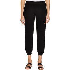 Three Dots Womens Jovie Pleated Causal Jogger Pants