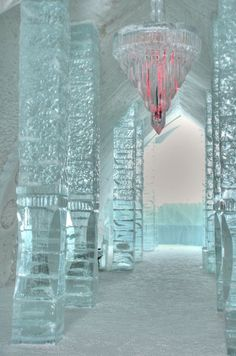 Reasons to Travel to Sweden During Winter Places To Visit: Ice Hotel, Jukkasjarvi, Sweden. I need to go here before I die