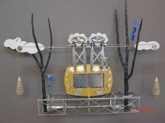'Hi Wire Mechanical Theatre' by Thomas Huges   http://thomashughesmechanicaltheatres.com/2010/08/11/working-on-the-high-wire/ #underconstruction