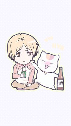 Natsume's Book of Friends Anime Chibi, Manga Anime, Natsume Takashi, Hotarubi No Mori, Chinese Cartoon, Tiger And Bunny, Gekkan Shoujo Nozaki Kun, Natsume Yuujinchou, Maneki Neko