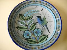 Ken Edwards Mexican Stoneware Mexican Pottery 10 1/2 by Modernaire