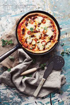 pan pizza de luxe
